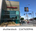 los angeles  july 21  2018 ... | Shutterstock . vector #1167630946