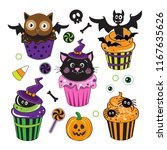 Cute Halloween Cupcakes With...