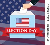 election day in united states...   Shutterstock .eps vector #1167656530