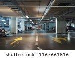 underground garage or modern... | Shutterstock . vector #1167661816