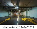 underground garage or modern... | Shutterstock . vector #1167661819