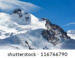 Постер, плакат: Dufourspitze of Monte Rosa