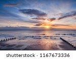 Sunrise At Bridlington Beach ...