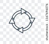 circular arrow vector icon...