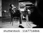 business african american man... | Shutterstock . vector #1167716866