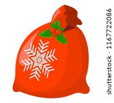 gift xmas isolated icon.... | Shutterstock .eps vector #1167722086