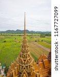 vihara and surrounding...   Shutterstock . vector #1167727099