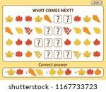 set of tasks for the... | Shutterstock .eps vector #1167733723