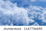 aerial view of clouds formation ... | Shutterstock . vector #1167736690