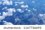 aerial view of clouds formation ... | Shutterstock . vector #1167736693