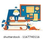 modern vector flat hipster...   Shutterstock .eps vector #1167740116