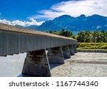 old rhine bridge from... | Shutterstock . vector #1167744340
