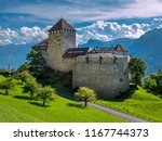 schloss vaduz castle ... | Shutterstock . vector #1167744373