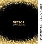 sparkling glitter border  frame.... | Shutterstock .eps vector #1167746086