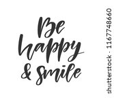 vector hand drawn quote   be... | Shutterstock .eps vector #1167748660
