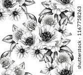 abstract elegance seamless... | Shutterstock .eps vector #1167758263