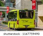 public transit bus in vaduz ... | Shutterstock . vector #1167759490