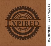 expired wood emblem | Shutterstock .eps vector #1167763363
