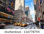 new york city  ny   dec 30 ... | Shutterstock . vector #116778754
