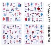 vector backgrounds in flat...   Shutterstock .eps vector #1167799309