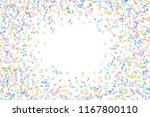 vector colorful music notations ... | Shutterstock .eps vector #1167800110