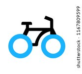 vector bicycle icon  vector... | Shutterstock .eps vector #1167809599