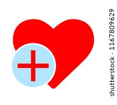 heart sign icon. add lover... | Shutterstock .eps vector #1167809629