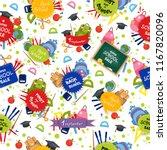 welcome back to school pattern. ... | Shutterstock .eps vector #1167820096