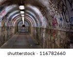 Abandoned Graffiti Tunnel
