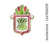 vintage heraldic emblem created ... | Shutterstock .eps vector #1167828259