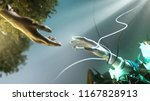 artificial intelligence concept ... | Shutterstock . vector #1167828913