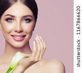 beauty fashion portrait.... | Shutterstock . vector #1167866620