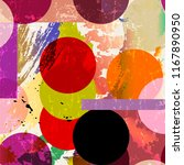 seamless geometric background...   Shutterstock .eps vector #1167890950