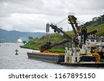 panama canal 11 07 2012  large... | Shutterstock . vector #1167895150