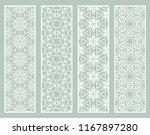 decorative geometric line... | Shutterstock .eps vector #1167897280