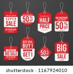 set of promotion sale price tag ... | Shutterstock .eps vector #1167924010