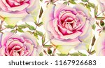 seamless pattern with... | Shutterstock . vector #1167926683