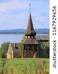 wooden bell cage in sweden ...   Shutterstock . vector #1167929656