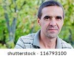 closeup portrait of an... | Shutterstock . vector #116793100