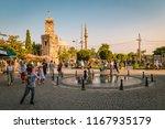antalya turkey july 2018  view... | Shutterstock . vector #1167935179