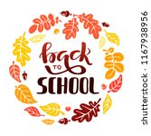 back to school vector... | Shutterstock .eps vector #1167938956