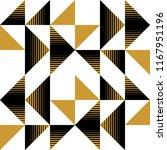 triangular seamless pattern... | Shutterstock .eps vector #1167951196