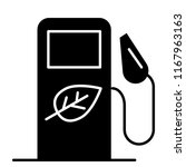 bio fuel solid icon. bio gas... | Shutterstock .eps vector #1167963163