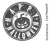 pumpkin happy halloween quality ... | Shutterstock .eps vector #1167964699