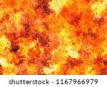 heat red lava texture of... | Shutterstock . vector #1167966979
