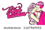 be a nice human lettering. nice ...   Shutterstock .eps vector #1167969553