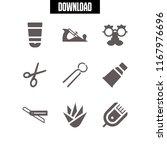 procedure icon. 9 procedure...   Shutterstock .eps vector #1167976696