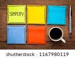 simplify   task management... | Shutterstock . vector #1167980119