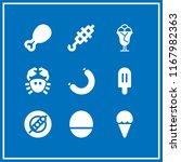 gourmet icon. 9 gourmet vector...   Shutterstock .eps vector #1167982363