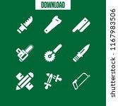 sharp icon. 9 sharp vector set. ... | Shutterstock .eps vector #1167983506